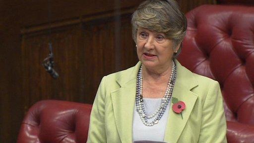 Liberal Democrat Baroness Walmsley
