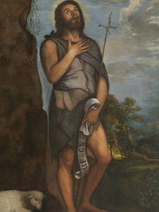 Saint John the Baptist (c.1555), Titian