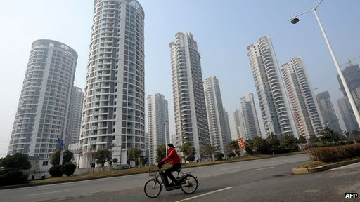 High-rise residential blocks in Hefei, Anhui province