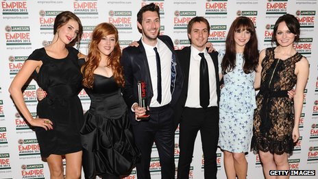 Jessica Knappett, Lydia Rose Bewley, Blake Harrison, Joe Thomas, Tamla Kari and Laura Haddock