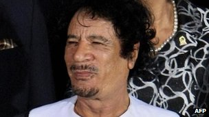 Colonel Gaddafi in 2009