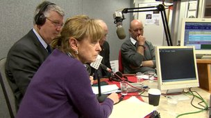 Police elections radio debate