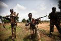 Nuba fighters near Dalami 