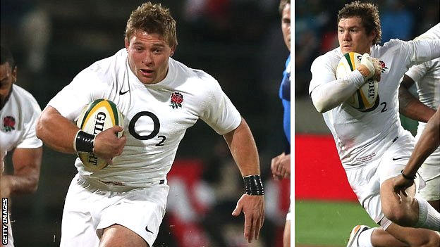 England hooker Tom Youngs and full-back Alex Goode