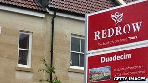 Redrow housing development