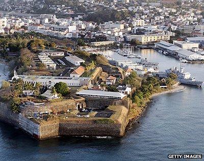 Fort Saint-Louis, Martinique