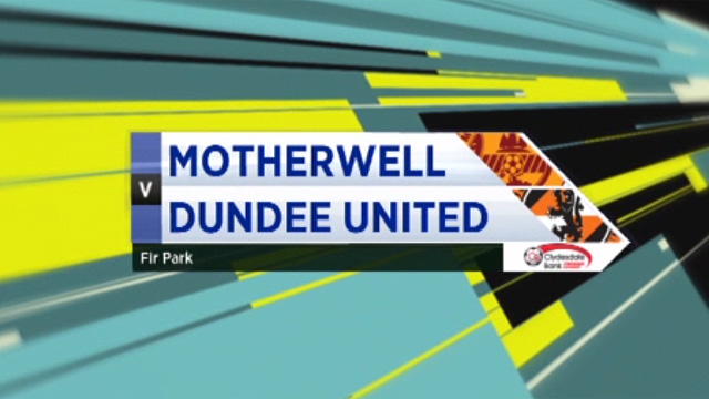Motherwell 0-1 Dundee United