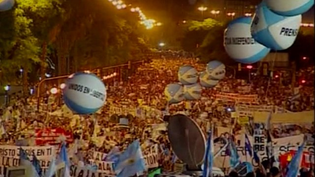 Thousands demonstrate in Buenos Aires
