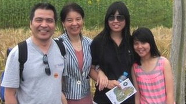 Ding family photo