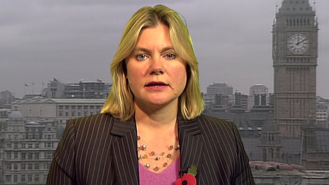 International Development Secretary, Justine Greening