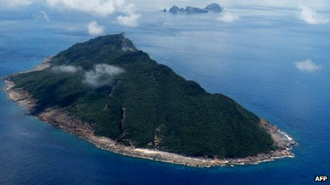 Disputed Senkaku / Diaoyu islands