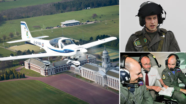 Training at RAF Cranwell