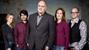 The Dara O Briain's Science Club team
