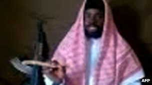 Abubakar Shekau in a Youtube video earlier this year