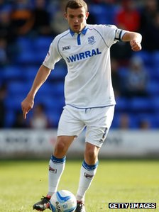 James Wallace of Tranmere Rovers