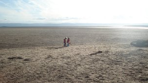 Hoylake beach