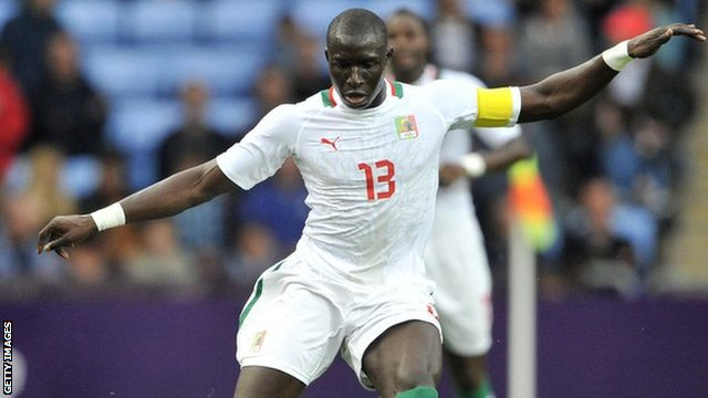 Senegal and West Ham's Mohamed Diame