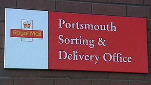 Portsmouth mail centre