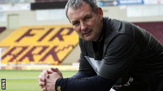 Motherwell assistant manager Kenny Black