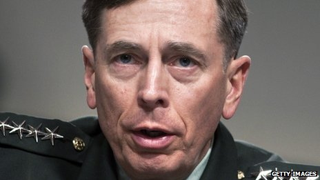 US General David Petraeus file picture