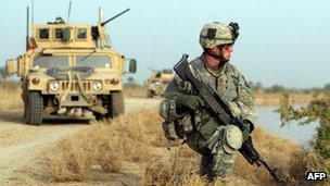 US Soldier in Iraq, file picture