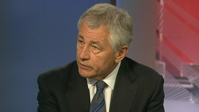 Chuck Hagel on WNA