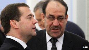 Maliki and Medvedev