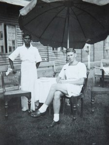 George Davies in Sri Lanka during World War II 
