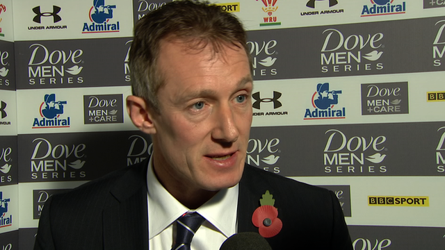 Wales interim coach Rob Howley