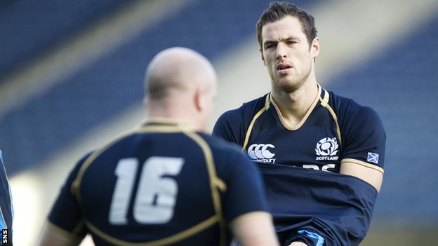 Tim Visser will make his first Scotland appearance at Murrayfield against New Zealand