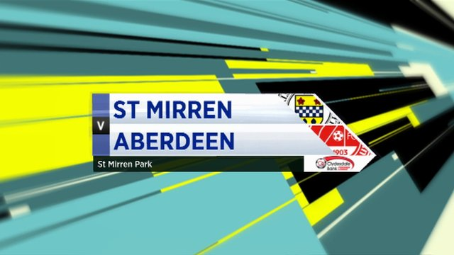 Highlights - St Mirren 1-4 Aberdeen