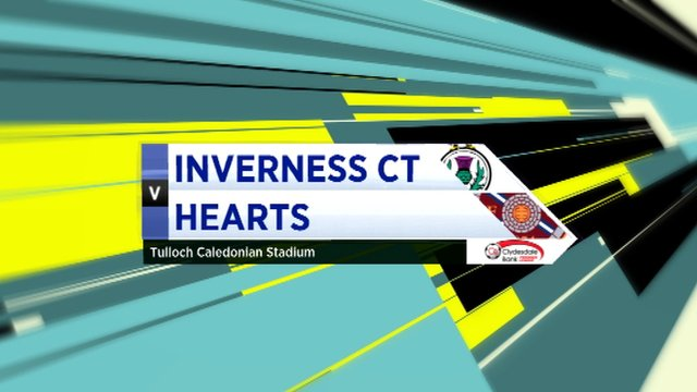 Highlights - Inverness CT 1-1 Hearts