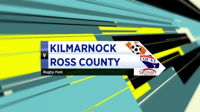 Highlights - Kilmarnock 3-0 Ross County