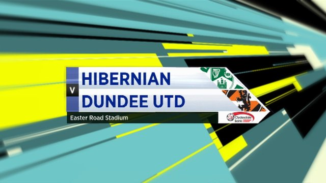 Highlights - Hibernian 2-1 Dundee Utd