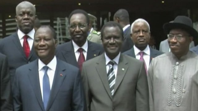 West African leaders