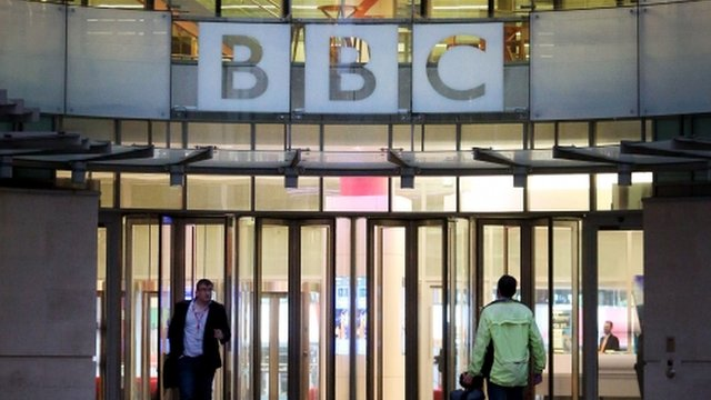 The BBC's new broadcasting house