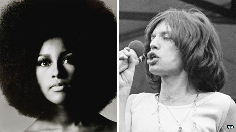 Marsha Hunt and Mick Jagger