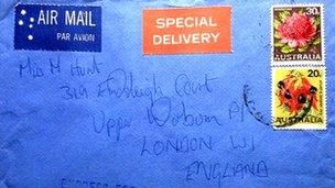 Letter envelope