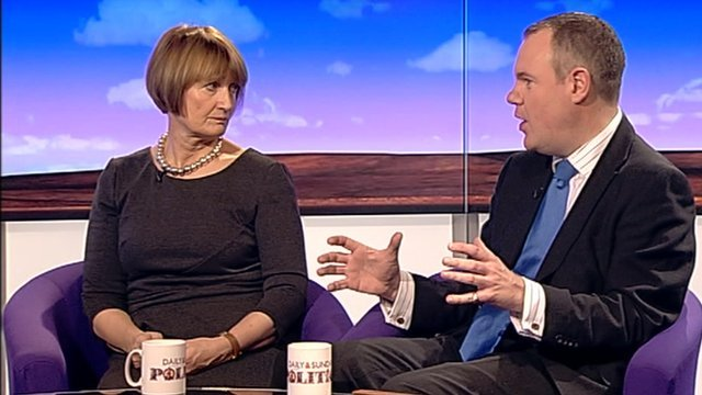 Tessa Jowell and Conor Burns