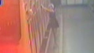 A picture of Georgia Varley taken from CCTV at James Street station