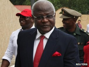 Sierra Leone&quot;s president Ernest Bai Koroma