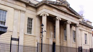 Bishop St courthouse in Londonderry