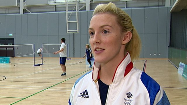 Badminton player Imogen Bankier