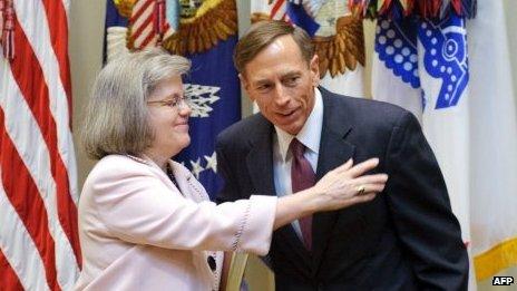 Holly and David Petraeus