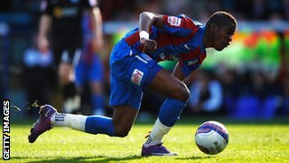 Zaha has been named in England manager Roy Hodgson's squad after impressing for Crystal Palace