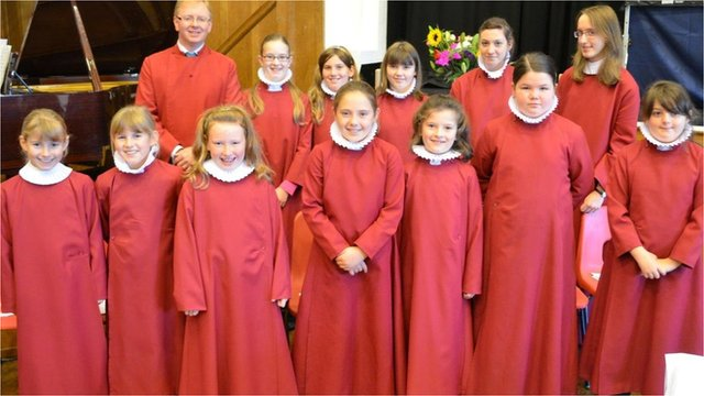 Bangor Cathedral Girl's Choir with Mr Paul Booth