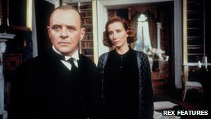 Sir Anthony Hopkins and Emma Thompson in The Remains of the Day