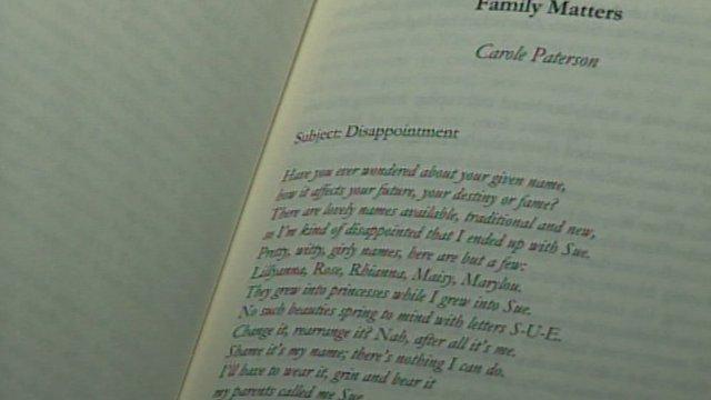 Carole Paterson poem 'Family Matters'