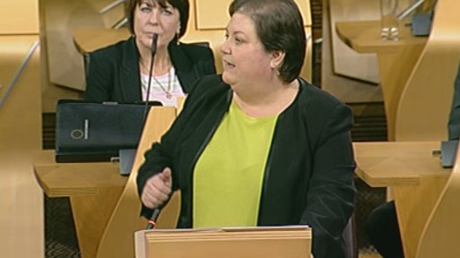 Labour MSP Jackie Bailli