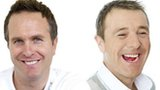 Michael Vaughan and Phil Tufnell